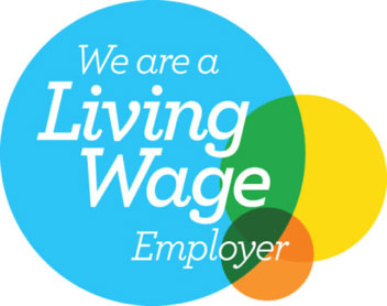 We're a living wage Employer Icon